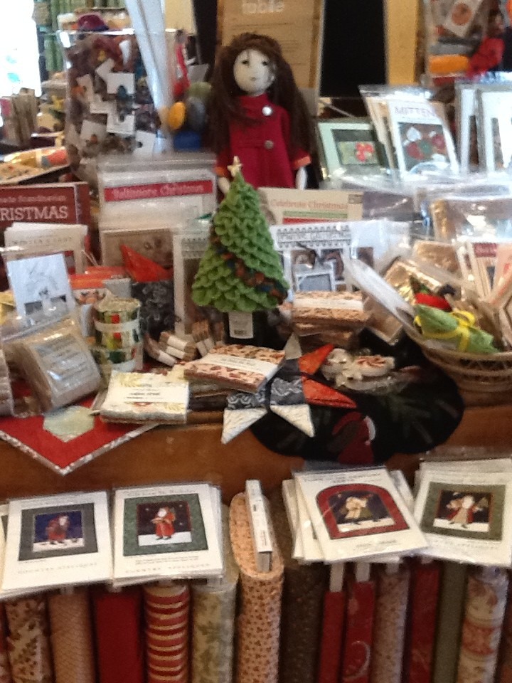 Christmas Items at Knit One Quilt Too