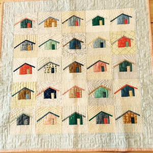 Make an outhouse quilt with Maria Ferreira