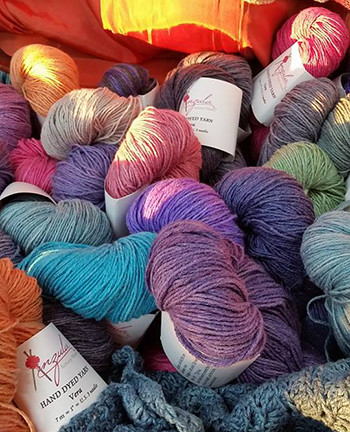 Anzula Trunk Show at Knit One Quilt Too August 23