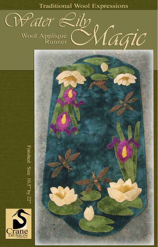 Waterlily Magic Wool Applique