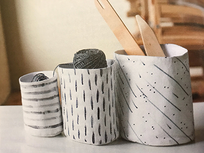 Nesting buckets to make