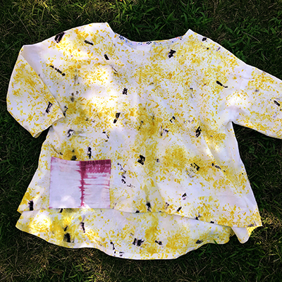 Make this naturally dyed tunic