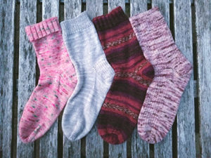 Monthly sock class