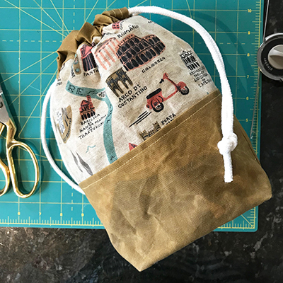 Friday night fun for knitters: Learn to sew a project bag