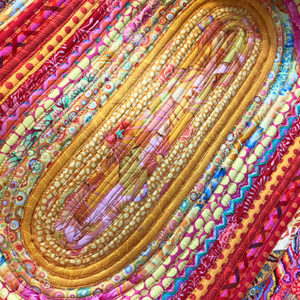 Make a rug from a jelly roll