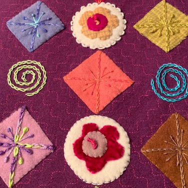 Beginner embroidery class with Deb McManus