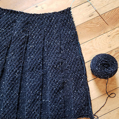 Knit-along Carnaby Skirt