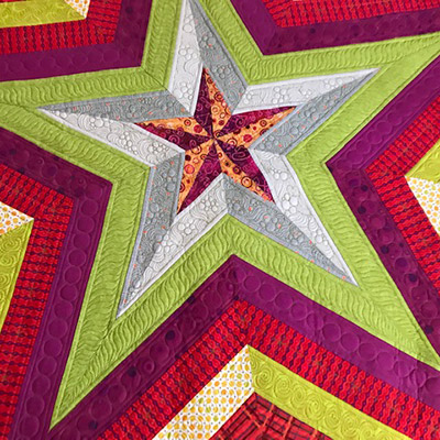 Star Storm Quilt class with Kathy Graves