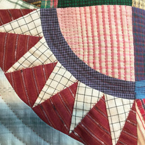 Hand-quilting example