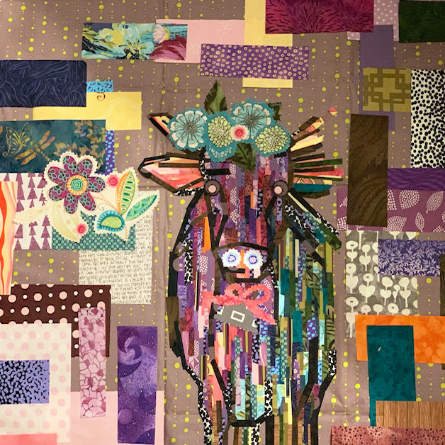 Holy Moderne Cow Quilt