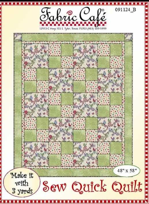 Learn to Quilt pattern