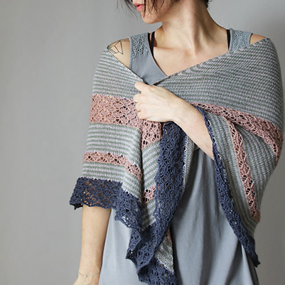 Knit along, Rock My Shawl