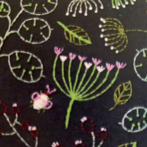 Learn embroidery with Deb