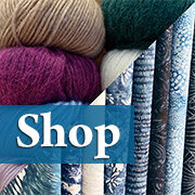 Shop our incredible yarn, fabric, kits, and more